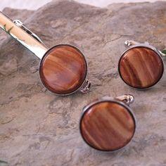 handgemachte Einzelstücke Cufflinks, Etsy, Vintage, Accessories, Fashion, Ballpoint Pen, Arts And Crafts, Timber Wood, Schmuck