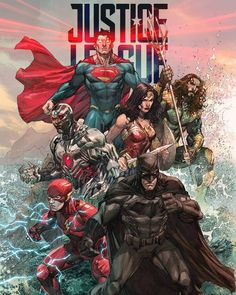 Justice League. by Ardian Syaf