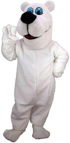 Toon Polar Bear Lightweight Mascot Costume MaskUS Costumes http://www.amazon.com/dp/B00CMQLOEG/ref=cm_sw_r_pi_dp_yXm8vb0N20D79