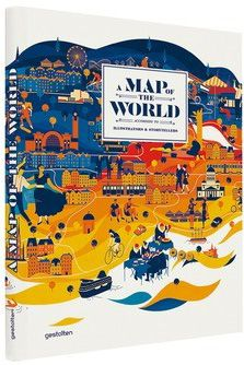 A Map of the World According to Illustrators and Storytellers | Als het goed is krijg ik deze van de Sassenheimertjes.