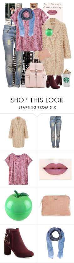 """258"" by mrs-h-7 ❤ liked on Polyvore featuring Anine Bing, MANGO, TONYMOLY, Kate Spade and Roda"