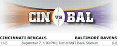Cincinnati Bengals vs. Baltimore Ravens NFL Preview #CINvsBAL #Cinciannti #Baltimore #Bengals #Ravens #NFL #Football