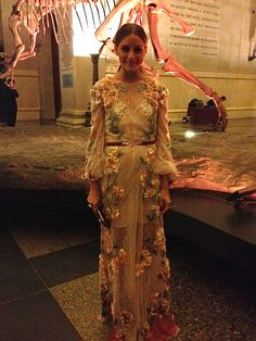Brazil Foundation event wearing Valentino 2012