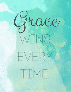 Grace wins free 8x10 printable