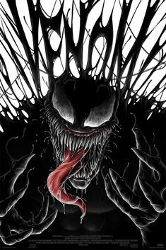 'Venom' prints by Matt Ryan Tobin for Mondo Marvel Comics, Marvel Villains, Marvel Art, Marvel Characters, Ms Marvel, New Venom, Venom Art, Venom Spiderman, Marvel Venom