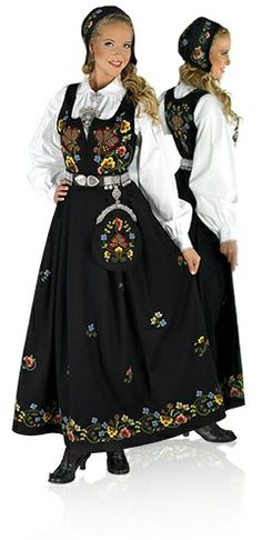 Norwegian Bunad from one of the valleys my ancestors came from- Gudbrandsdalen Norwegian Clothing, Oslo, Beautiful Norway, Costumes Around The World, Folk Costume, Historical Clothing, Traditional Dresses, Dress Up, Gowns