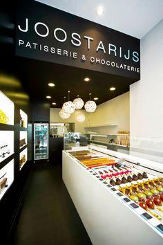 HOPPY('s) white concept cluster #DARK   JOOSTARIJS Patisserie & Chocolaterie  #project Gent BE [www.joostarijs.be]