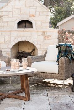 An Outdoor Furniture Makeover - The Identité Collective Outdoor Sofa, Outdoor Furniture, Outdoor Decor, Interior Design Website Templates, Spending Christmas Alone, Steel Frame Construction, Warm Undertone, Beautiful Space, Furniture Makeover