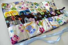Crochet needles case