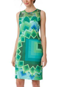 Desigual Dress Margaret (aqua) 40V2141   Canada  