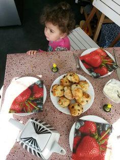 Mmm scones smullen met Shirine!