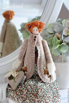 Купить Джилиан - тильда, кукла ручной работы, кукла интерьерная, для уюта, для интерьера, подарок
