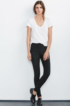 f7031f542a54 ROSALIND FAUX SUEDE LEGGINGS Just Arrived! Suede Leggings, Suede Pants,  Leggings Are Not
