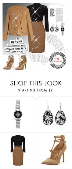 """Snap made 9"" by sabypolivore ❤ liked on Polyvore featuring Phase Eight, Sam Edelman, See by Chloé and Kate Spade"