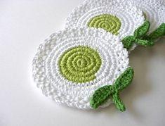 Crochet Kitchen, Crochet Home, Love Crochet, Crochet Gifts, Crochet Motif, Crochet Doilies, Crochet Flowers, Knit Crochet, Crochet Patterns