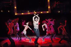 """Alan Cumming, center, in the musical """"Cabaret,"""" which opened on Broadway on Thursday at Studio 54."""