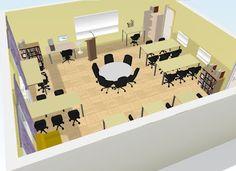 Century Classroom Design--some helpful ideas for designing my new classroom! Modern Classroom, Classroom Layout, Classroom Organisation, Classroom Design, School Classroom, Classroom Decor, 21st Century Classroom, 21st Century Learning, Formation Continue
