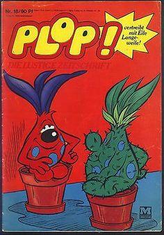 Plop! ...und Die Trolls Nr.18 von 1969 - MOEWIG FUNNY COMICHEFT-RARITÄT