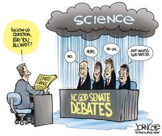 During the first GOP Senate debate, all four candidates indicated that they do NOT believe in climate change. What does this mean for North Carolinians and our natural resources? #climatechange #ncga