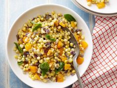 Confetti Corn : Showcase summer's best corn with Ina's off-the-cob recipe. Cook…