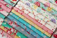 Isn't this just a yummy selection of fabric?