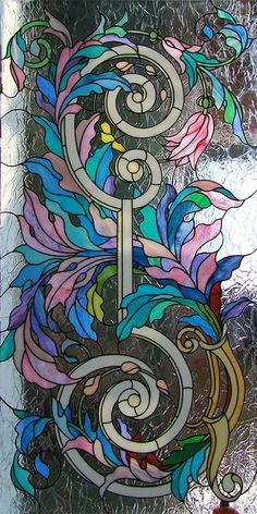 Элементы интерьера ручной работы. Ярмарка Мастеров - ручная работа Акант в бирюзово-розовых тонах. Handmade.