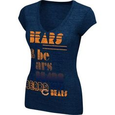 Chicago Bears Women s Victory Play T-Shirt Chicago Bears Gear 1b8075777764