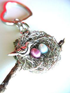 handmade Mother key chain $36