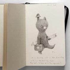 Sketchbook: Renata Liwska   Book By Its Cover