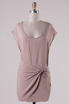 Sweet Memories Dress - Taupe