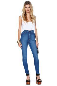 Perfect Ten Skinny Jeans | Shop Denim at Nasty Gal