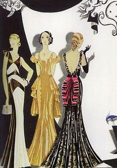 Vintage Fashion Illustration