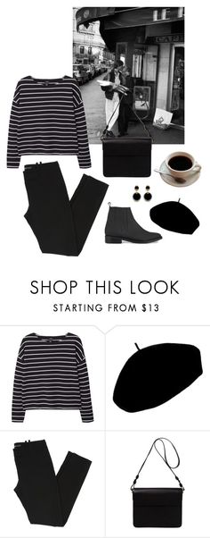 """""""this is my happy outfit"""" by caroline11800 ❤ liked on Polyvore featuring MANGO, Betmar, Balenciaga, Orla Kiely and Opening Ceremony"""