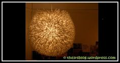 Straw Lamp Eco Friendly, Recycling, Chandelier, Ceiling Lights, Diy, Home Decor, Candelabra, Decoration Home, Bricolage