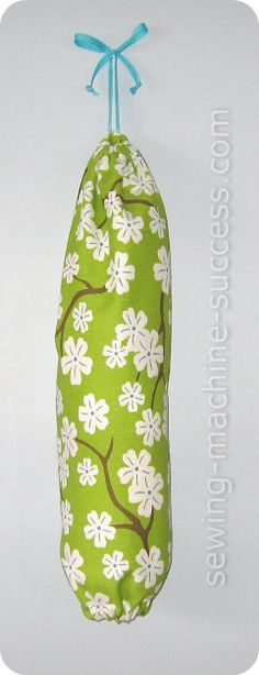Plastic Bag Holder Make Your Own With Our Free Pattern