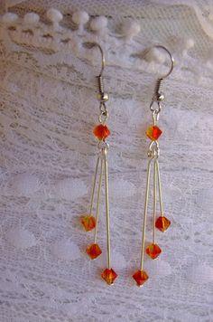 Beads by Ildiko: Swarovski earrings
