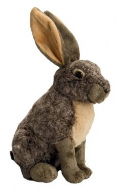Cuddlekins Hare (12-inch)  at theBIGzoo.com, a toy store with over 12,000 products.