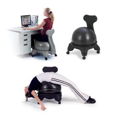 Sivan Health and Fitness Balance Fit Chair, Black -  http://www.wahmmo.com/sivan-health-and-fitness-balance-fit-chair-black/ -  - WAHMMO