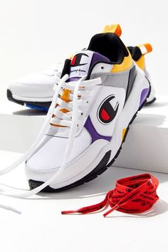 Champion 93Eighteen Colorblock Sneaker Champion Tennis Shoes 01fb4259f
