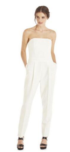 White jumpsuit F&F