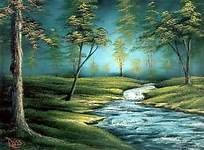 Peaceful Landscape Paintings By Bob Ross