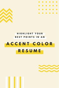 Emphasize career highlights on your resume by using color strategically [free templates]