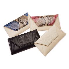 Free shipping Isly Fall14 now on the website. Sona snake skin & Italian leather clutches. www.islyhandbags.com                   #islyhandbags #armcandy #fall14 #promo #freeshipping #sona #clutch #fashionbloggers #ootd #aboutalook #clutchit