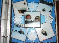 Image result for winter scrapbooking layouts