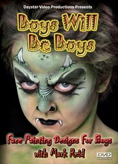 boys face painting designs