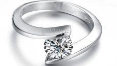 wedding rings for women white gold 2015