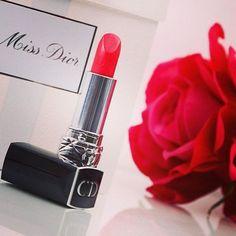 Dior Rouge lipstick. #dior #rouge #lipstick