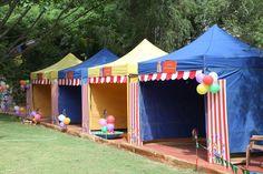"Photo 1 of 46: Circus/Carnival / Birthday ""Amaya's First Bday Party"" | Catch My Party Carnival Tent, Carnival Booths, Fall Carnival, Circus Carnival Party, Kids Carnival, Circus Theme Party, Carnival Birthday Parties, Carnival Themes, Circus Birthday"