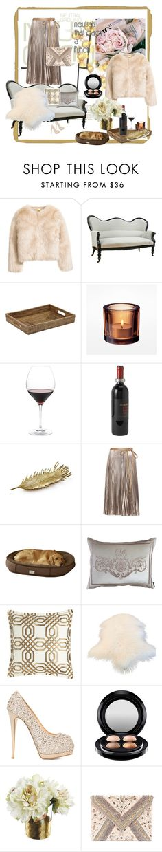 """""""NEUTRAL"""" by bluberry1975 ❤ liked on Polyvore featuring The French Chefs, Nordstrom, Match, Williams-Sonoma, Valentino, Lili Alessandra, Isabella Collection, Giuseppe Zanotti, MAC Cosmetics and LULUS"""