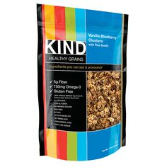 Kind Healthy Grains Vanilla Blueberry/Flax Clusters, 11 Oz